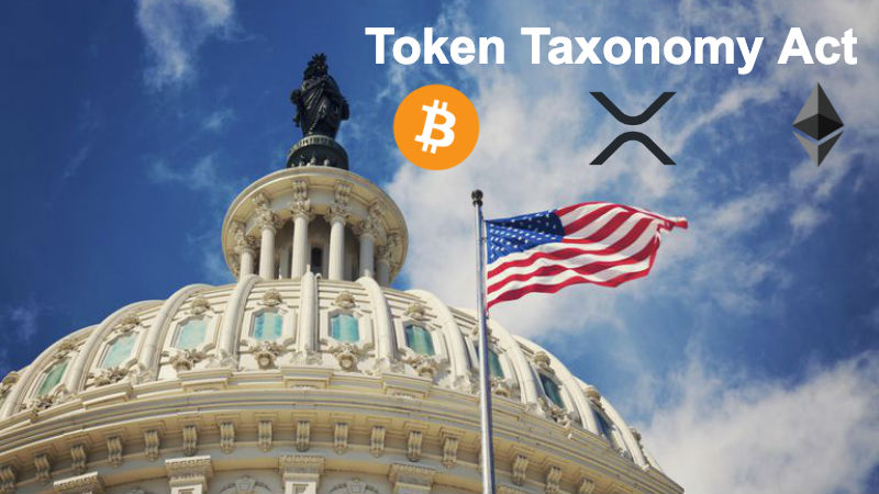"Proposed US Law ""Token Taxonomy Act"" To Bring Regulatory Clarity To Crypto Market"