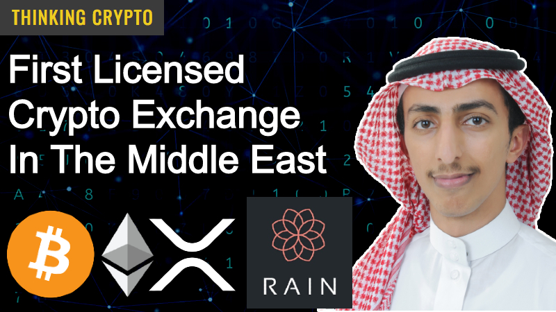 Interview: Abdullah Almoaiqel Rain Crypto Exchange – Retail, Institutional, Custody, Crypto Trading