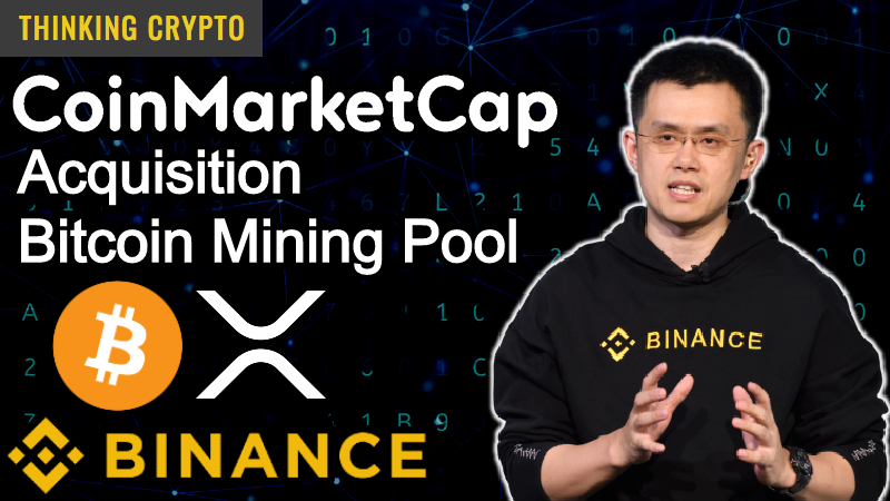 Interview: CZ Binance CEO – CoinMarketCap Acquisition, Bitcoin Mining Pool, Binance Card