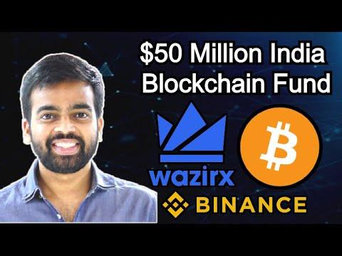 Interview: WazirX CEO Nischal Shetty – Crypto Unban India – Binance $50M Blockchain Fund – STF Token